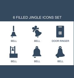 Jingle icons vector
