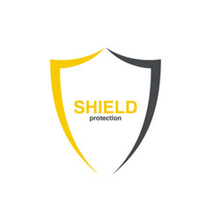 Logo shield vector