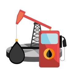 Oil and petroleum price design vector