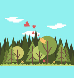 forest7 vector image vector image