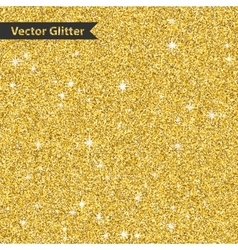 Golden glitter pattern texture with star abstract vector