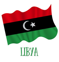 24 december libya independence day background vector