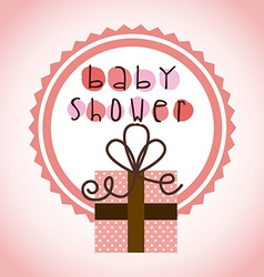 Baby shower vector