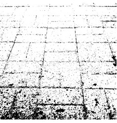 Background of grunge paving slabs vector