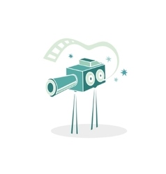 Cinema projector vector image