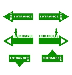 Entrance vector
