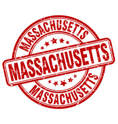 Massachusetts stamp vector