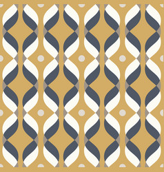 Ogee seamless curved pattern abstract vector