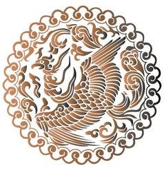 Phoenix chinese mythology vector