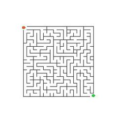 printable mazes for kids maze games worksheet vector image
