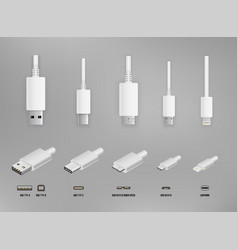 Usb all type vector