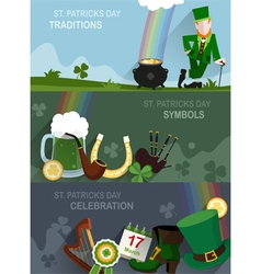 St Patricks Day traditional vector image