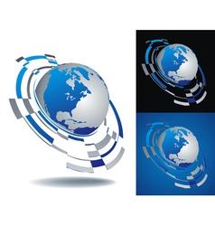 logo america segment vector image vector image