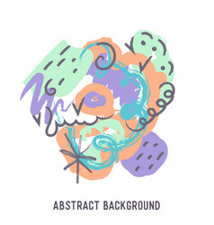 Abstract colorful background with vector