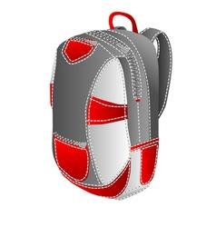 Backpack university vector