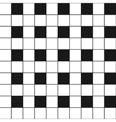 Chess Board Black White Background2 vector image