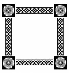 Decorative border vector