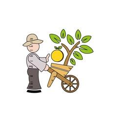 Farmer-380x400 vector image