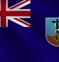 Montserrat flag vector