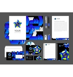 set of corporate identity for your business logo vector image