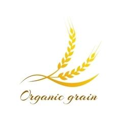 Wheat label - vector image