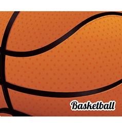 basketball poster vector image vector image