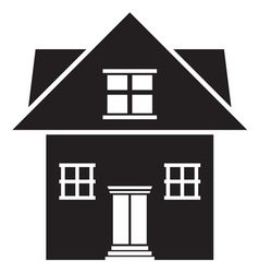 House icon3 resize vector image vector image