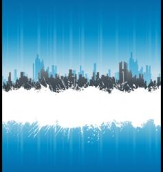 urban white splatter stripe background vector image vector image