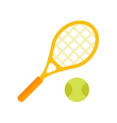 a tennis vector image