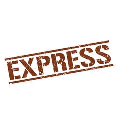 Express stamp vector