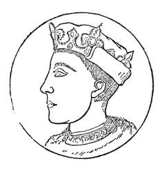 henry v vintage vector image