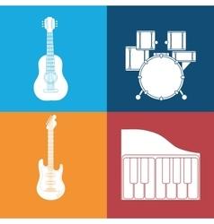 Music sound instrument vector