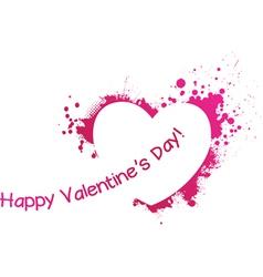 valentine day symbol vector image vector image