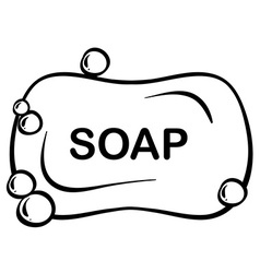 Bar soap vector
