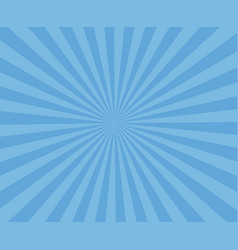 blue art striped background modern stripe rays vector image