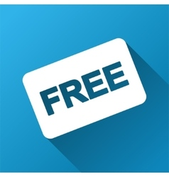 Free Card Gradient Square Icon vector
