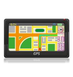 Gps navigator 03 vector