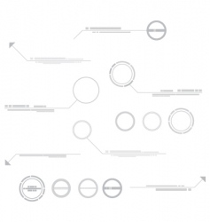 technical elements vector image