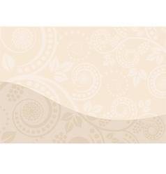beige background vector image vector image