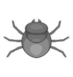 Harvest bug icon cartoon style vector