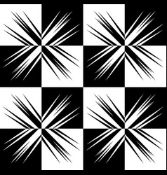 Abstract monochromatic seamlessly repeatable vector