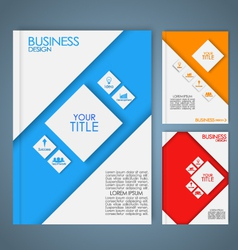 Business brochure 3 vector