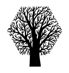figure tree vector image