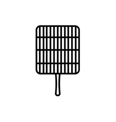 grill icon vector image