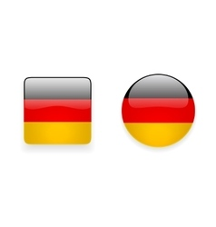 Icons with German Flag vector