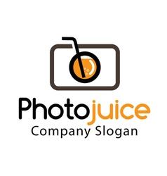 Photo juice Design vector image
