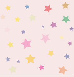 star background childrens joy calm fairy tale vector image