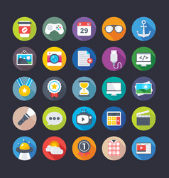Business and office icons 10 vector