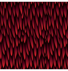 leaf red pattern background vector image