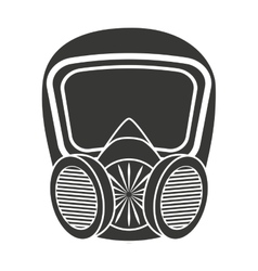 Mask protection work icon vector